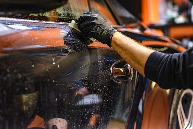car polish photo